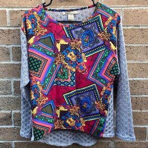 Flying Tomato Colorful Blouse S